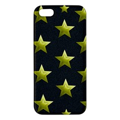 Stars Backgrounds Patterns Shapes Apple Iphone 5 Premium Hardshell Case by Celenk