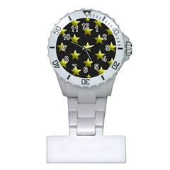 Stars Backgrounds Patterns Shapes Plastic Nurses Watch by Celenk