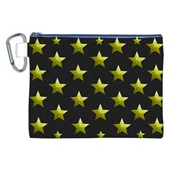 Stars Backgrounds Patterns Shapes Canvas Cosmetic Bag (xxl) by Celenk