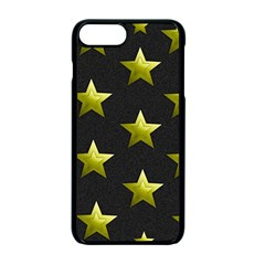 Stars Backgrounds Patterns Shapes Apple Iphone 7 Plus Seamless Case (black) by Celenk