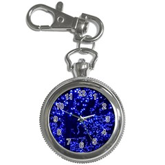 Lights Blue Tree Night Glow Key Chain Watches by Celenk