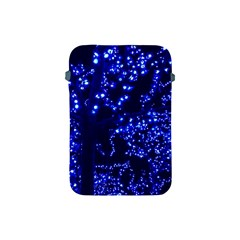 Lights Blue Tree Night Glow Apple Ipad Mini Protective Soft Cases by Celenk