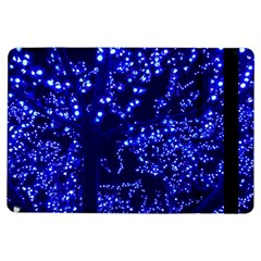 Lights Blue Tree Night Glow Ipad Air Flip by Celenk
