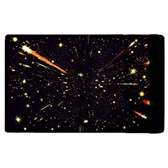 Star Sky Graphic Night Background Apple Ipad 3/4 Flip Case by Celenk
