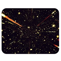 Star Sky Graphic Night Background Double Sided Flano Blanket (medium)  by Celenk
