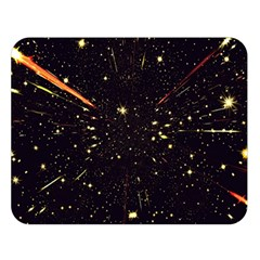 Star Sky Graphic Night Background Double Sided Flano Blanket (large)  by Celenk