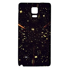 Star Sky Graphic Night Background Galaxy Note 4 Back Case by Celenk