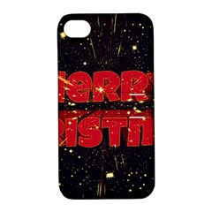 Star Sky Graphic Night Background Apple Iphone 4/4s Hardshell Case With Stand by Celenk