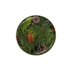 Branch Christmas Cone Evergreen Hat Clip Ball Marker (10 Pack) by Celenk
