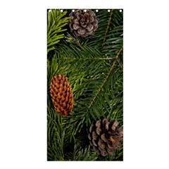 Branch Christmas Cone Evergreen Shower Curtain 36  X 72  (stall)  by Celenk
