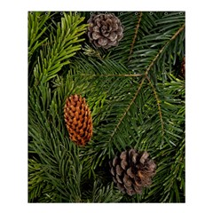 Branch Christmas Cone Evergreen Shower Curtain 60  X 72  (medium)  by Celenk