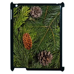 Branch Christmas Cone Evergreen Apple Ipad 2 Case (black) by Celenk