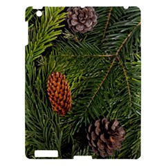 Branch Christmas Cone Evergreen Apple Ipad 3/4 Hardshell Case by Celenk