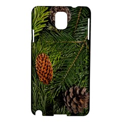 Branch Christmas Cone Evergreen Samsung Galaxy Note 3 N9005 Hardshell Case by Celenk