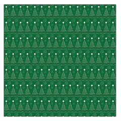 Christmas Tree Pattern Design Large Satin Scarf (square) by Celenk