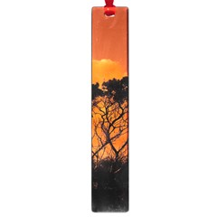 Trees Branches Sunset Sky Clouds Large Book Marks
