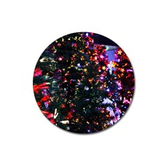 Abstract Background Celebration Magnet 3  (round) by Celenk