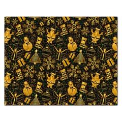 Christmas Background Rectangular Jigsaw Puzzl by Celenk