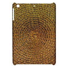 Background Gold Pattern Structure Apple Ipad Mini Hardshell Case by Celenk