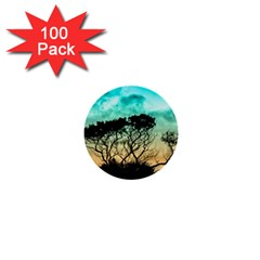 Trees Branches Branch Nature 1  Mini Buttons (100 Pack)  by Celenk