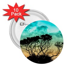 Trees Branches Branch Nature 2 25  Buttons (10 Pack)  by Celenk