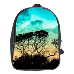 Trees Branches Branch Nature School Bag (xl) by Celenk
