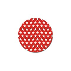 Star Christmas Advent Structure Golf Ball Marker (10 Pack) by Celenk