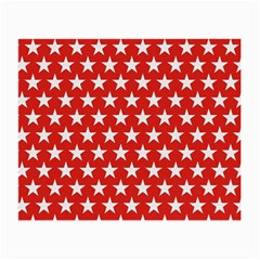 Star Christmas Advent Structure Small Glasses Cloth by Celenk