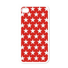 Star Christmas Advent Structure Apple Iphone 4 Case (white) by Celenk