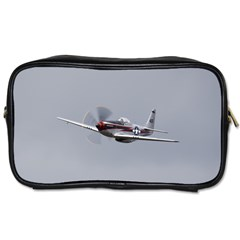 P 51 Mustang Flying Toiletries Bags 2 Side by Ucco