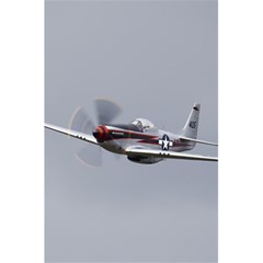 P 51 Mustang Flying 5 5  X 8 5  Notebooks by Ucco