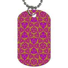 Sacred Geometry Hand Drawing Dog Tag (one Side) by Cveti