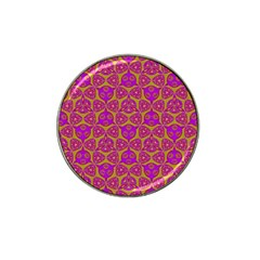 Sacred Geometry Hand Drawing Hat Clip Ball Marker (4 Pack) by Cveti