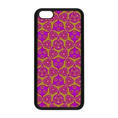 Sacred Geometry Hand Drawing Apple Iphone 5c Seamless Case (black) by Cveti