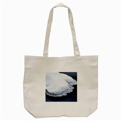 Ice, Snow And Moving Water Tote Bag (cream) by Ucco