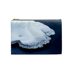 Ice, Snow And Moving Water Cosmetic Bag (medium)  by Ucco