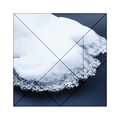 Ice, Snow And Moving Water Acrylic Tangram Puzzle (6  X 6 ) by Ucco