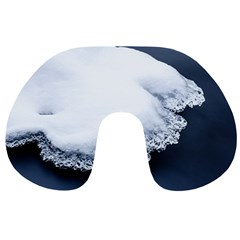 Ice, Snow And Moving Water Travel Neck Pillows by Ucco