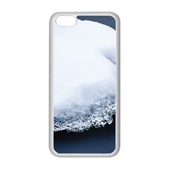 Ice, Snow And Moving Water Apple Iphone 5c Seamless Case (white) by Ucco