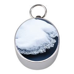 Ice, Snow And Moving Water Mini Silver Compasses by Ucco