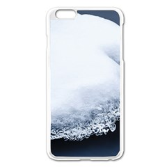 Ice, Snow And Moving Water Apple Iphone 6 Plus/6s Plus Enamel White Case by Ucco