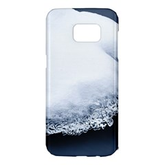 Ice, Snow And Moving Water Samsung Galaxy S7 Edge Hardshell Case by Ucco