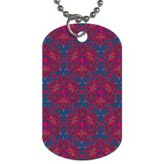 Bereket Red Blue Dog Tag (one Side) by Cveti