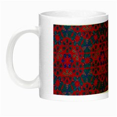 Bereket Red Blue Night Luminous Mugs by Cveti
