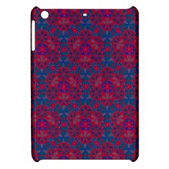 Bereket Red Blue Apple Ipad Mini Hardshell Case by Cveti