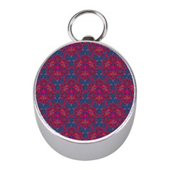 Bereket Red Blue Mini Silver Compasses by Cveti