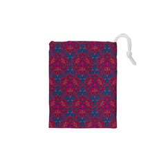 Bereket Red Blue Drawstring Pouches (xs)  by Cveti