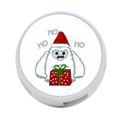 Yeti Xmas 4 Port Usb Hub (one Side) by Valentinaart