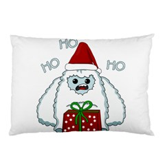 Yeti Xmas Pillow Case (two Sides) by Valentinaart