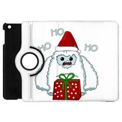 Yeti Xmas Apple Ipad Mini Flip 360 Case by Valentinaart